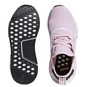31467e44abfd7 adidas Shoes - Adidas NMD R1 Clear Pink and Black Boost Primeknit